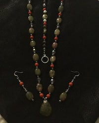 Real Green Jade Necklace earrings. and.  bracelet Sacramento, 95832