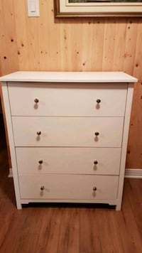 White Dresser, Stainless steel knobs Châteauguay, J6K 4Z6