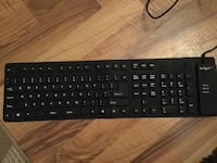 Black and gray corded computer keyboard Calgary, T2T 4M5