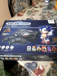 Sega genesis flashback console with controll