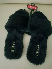 Guess Fur Slides Los Angeles, 91306