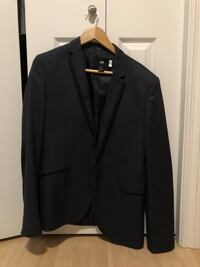 black notch lapel suit jacket Edmonton, T6H