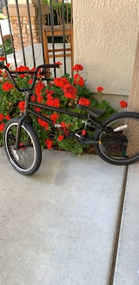 black and red BMX bike Loomis, 95650