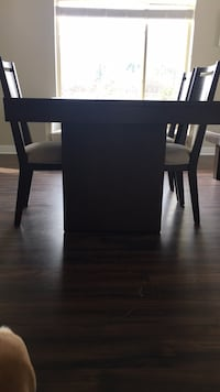 black wooden table with chair Vienna, 22182