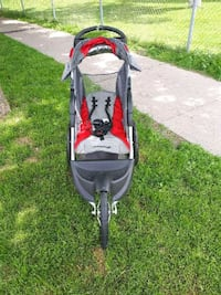 baby's gray and yellow jogging stroller Toronto, M5M 3G5