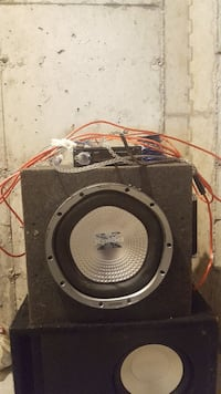 Complete Subwoofer setup! Everything you need  Dartmouth, B2Y 4V4
