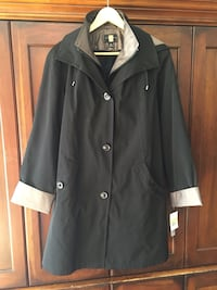 black button-up jacket 1158 mi