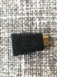 Mini-HDMI (Type C) Male to HDMI (Type A) Female Adapter Burnaby, V5H 4R7