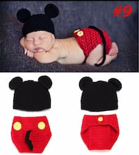 Mickey mouse costume newborn to 12months photography Surrey