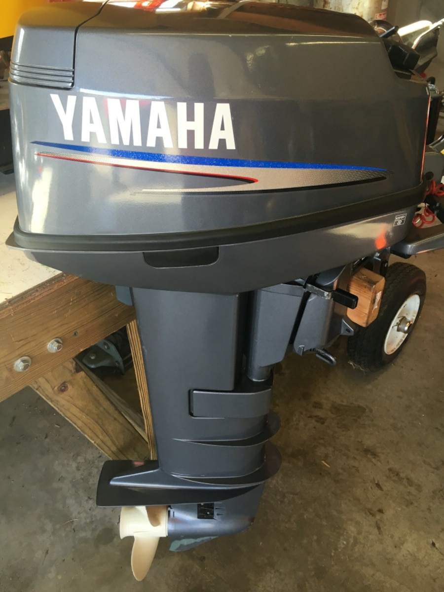 Used black yamaha outboard motor in louisburg for Yamaha policy