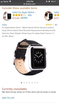 Apple Watch band 42mm ( NEW ) New York, 11214