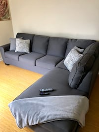Gray Couch brand new and bed  Marina Del Rey, 90292