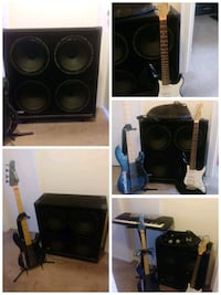 Music instruments for sale on a bundle.everything u see for only $650