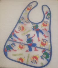 Japan Exclusive Crayon Shinchan Baby Bib 银泉, 20906