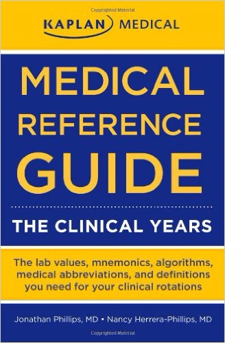 college student book - Medical Reference Guide The Clinical Years Mississauga, ON, Canada