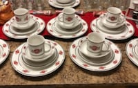 Vintage Collectable Sakura Coca-Cola dishes and lots of FREE extras Glen Burnie, 21060