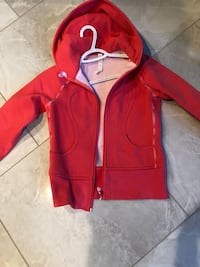 red zip-up hoodie Edmonton, T5Z 0C6