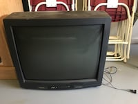 Black crt tv without remote Meridianville, 35759