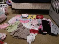 Baby girl clothes size 6 months Strasburg, 22657