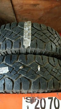 LT245/70R17 two tires no rims Calgary, T2C 0B4