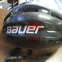 BAUER BIKE HELMET BLACK SIZE LARGE Calgary