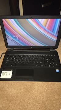 black and gray HP laptop Gaithersburg, 20878