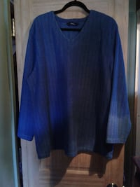 """Size 1X PENNINGTONS """"Blue"""" TOP * IF AD'S UP, IT'S STILL AVAILABLE Hamilton"""