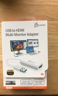 USB to HDMI adapter  Baltimore, 21236