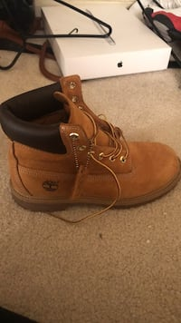 unpaired wheat nubuck Timberland work boot West Chester, 45069