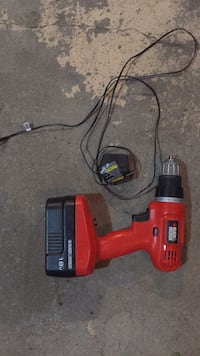 red and black cordless hand drill Sherwood Park, T8H 2P7