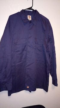 purple Dickies dress shirt Fresno, 93726