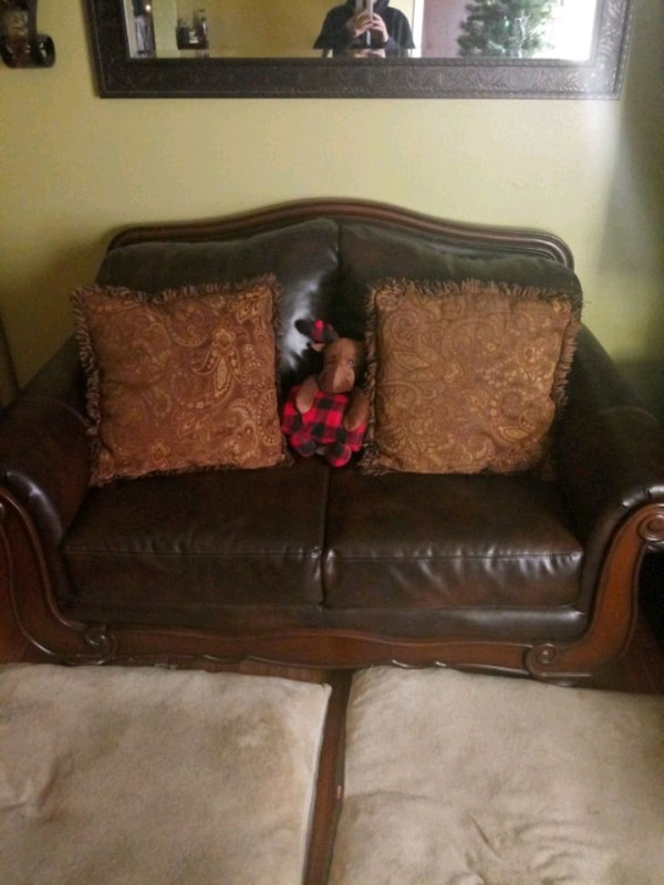 Used Ashley Furniture Couch And Love Seat For Sale In San Antonio