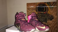 Nike Lebron 12  Double Helix Washington, 20002