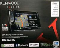 black Pioneer 2-DIN head unit box Toronto, M1K 1P5