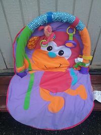 Baby's multicolored activity gym