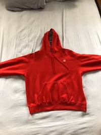 Mens Champion Pullover Hoodie Whitby