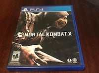 Mortal Kombat X PS4 game case Cleveland, 44120