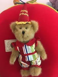 Limited Edition  - BOYDS Birthday Bear  Coventry, 06238