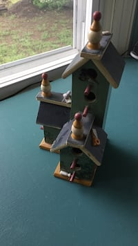 Bird house.  Available for shipping if needed  Wayne, 07470