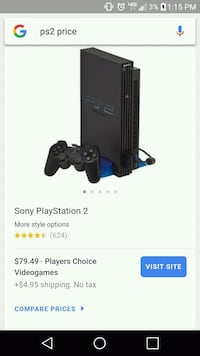 Ps2 with controller Clovis, 88101