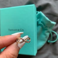 Tiffany and Co. Infinity Ring (Size 6) Markham, L3S 3S1