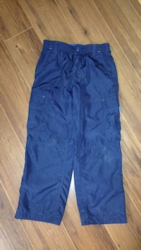 Navy blue sz 10 boys wind pant in new condition