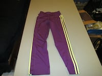 Girls Purple Adidas Pants Size Medium  Fort Saskatchewan