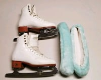 Riedell Professional Freestyler Ice Skates with Bl Chantilly, 20151