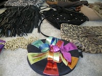 Purses - leather and suede  COLUMBIA