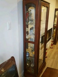 Two china / display cabinet