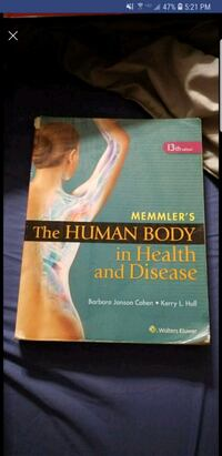 Memmlers the human body in health and disease  Wadsworth, 44281