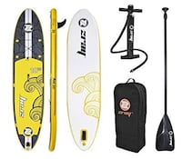 ZRay X2 inflatable paddleboard Vancouver