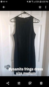 Black fringe dress Edmonton, T5T 6T7