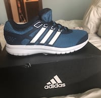 unpaired blue and white Adidas Ultra Boost with box Sioux Falls, 57106